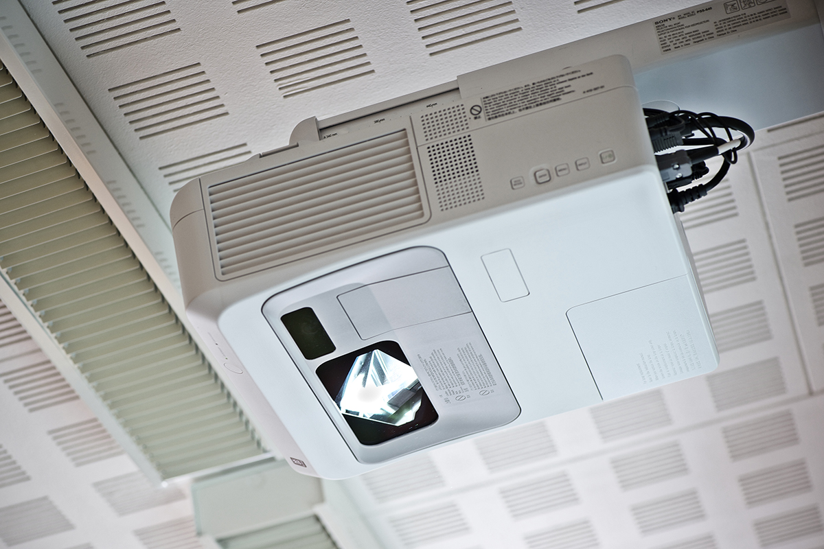 Interaktiv projektor
