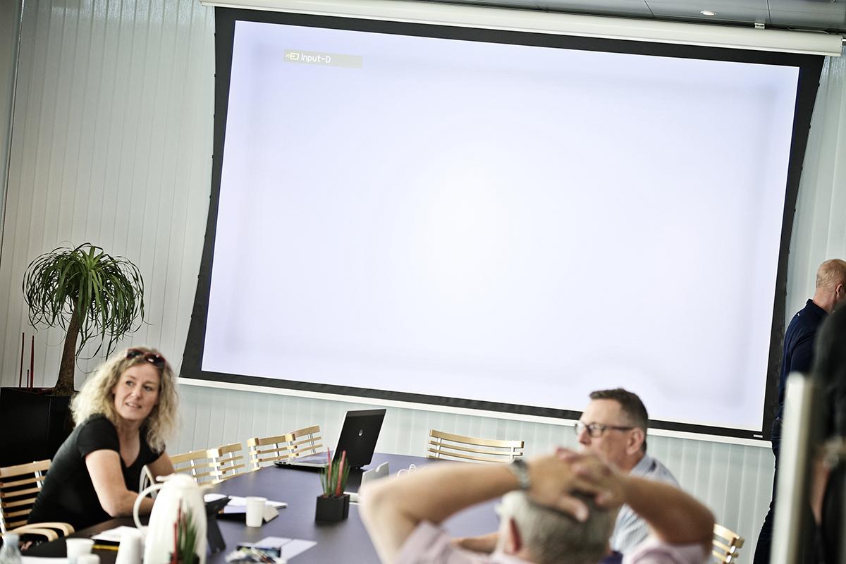 AV udstyr til mødelokale