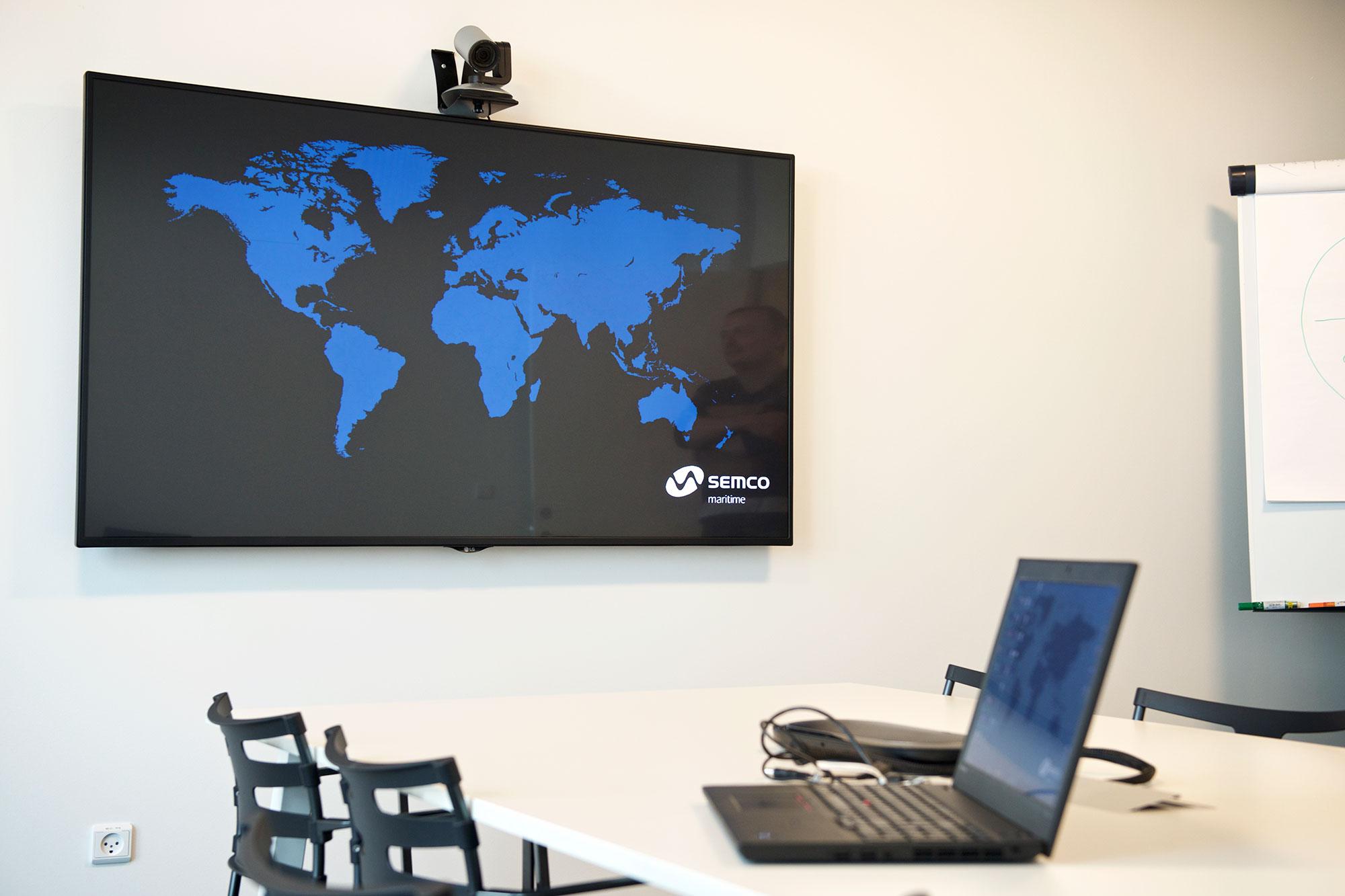 AV installation - Semco Maritime