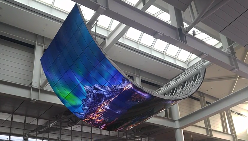 OLED skærme som buede skærme - WUAV