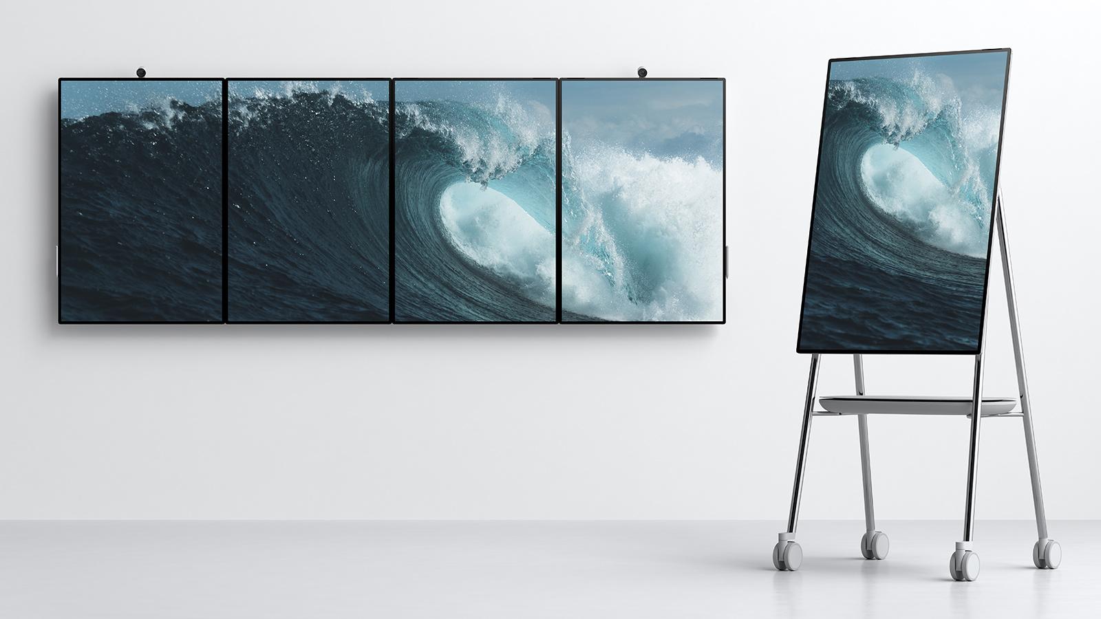 Bliv skrevet op til Surface HUB 2S